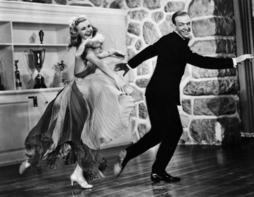 Ginger Rogers and 프레드 Astaire