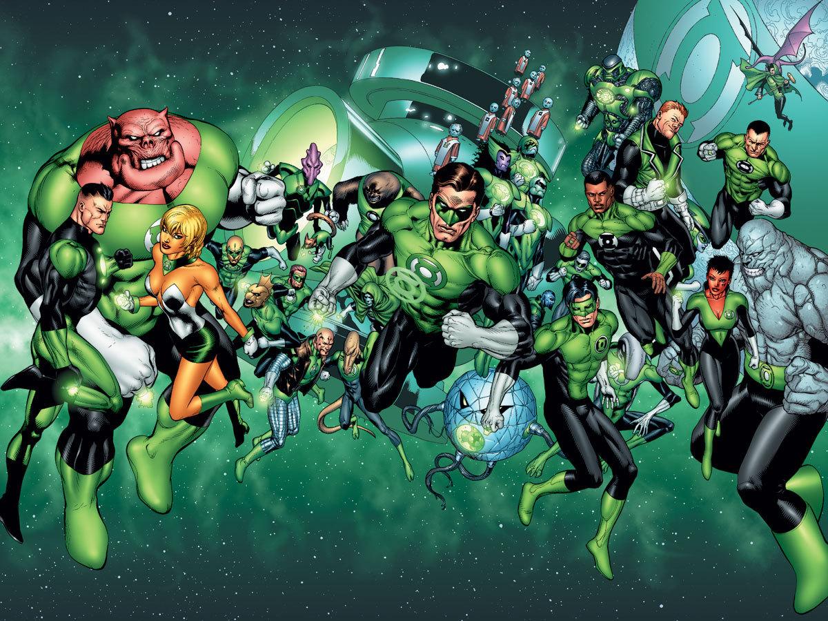 Dc comics green lantern corps