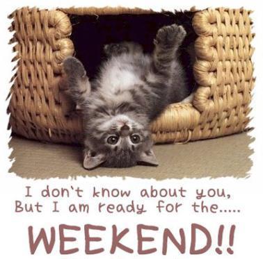 Have a nice weekend, Susie & Peter