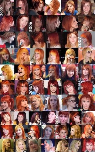 Hayley Williams (Transformation: 2005-2009)
