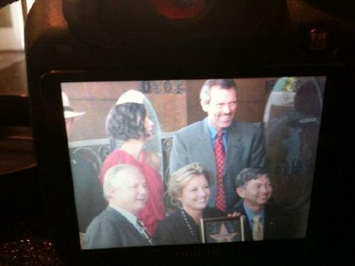 Hugh&Emma Thompson at the Walk of Fame(3)