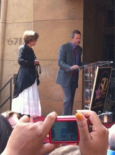 Hugh&Emma Thompson at the Walk of Fame
