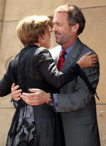 Hugh Laurie & Emma Thompson (August 6, 2010)