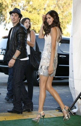 Ian & Nina @ Teen Choice Awards