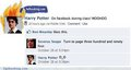 If Hogwarts had Facebook... - harry-potter-vs-twilight photo