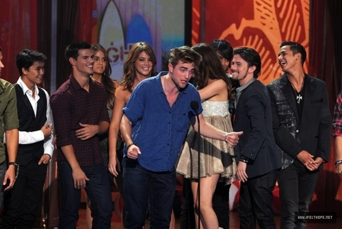 Jackson at the 2010 Teen Choice Awards