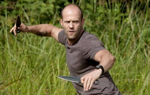 Jason Statham in The Expendables