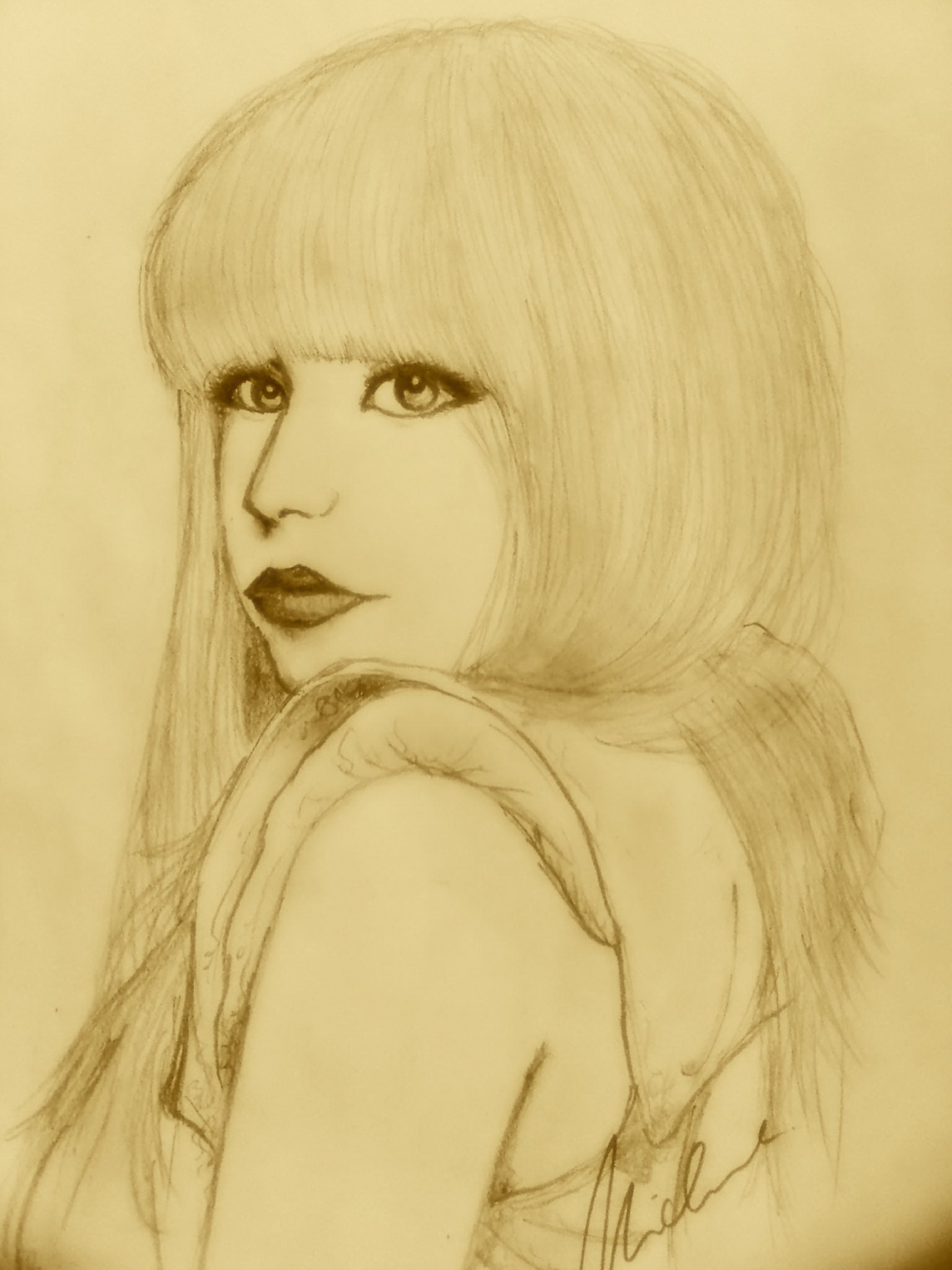 Lady Gaga Sketch =)