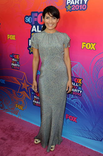 Lisa @ лиса, фокс 2010 Summer TCA All-Star Party
