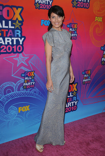 Lisa @ zorro, fox 2010 Summer TCA All-Star Party