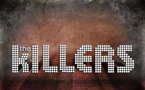 The Killers fond d'écran titled Logo fond d'écran