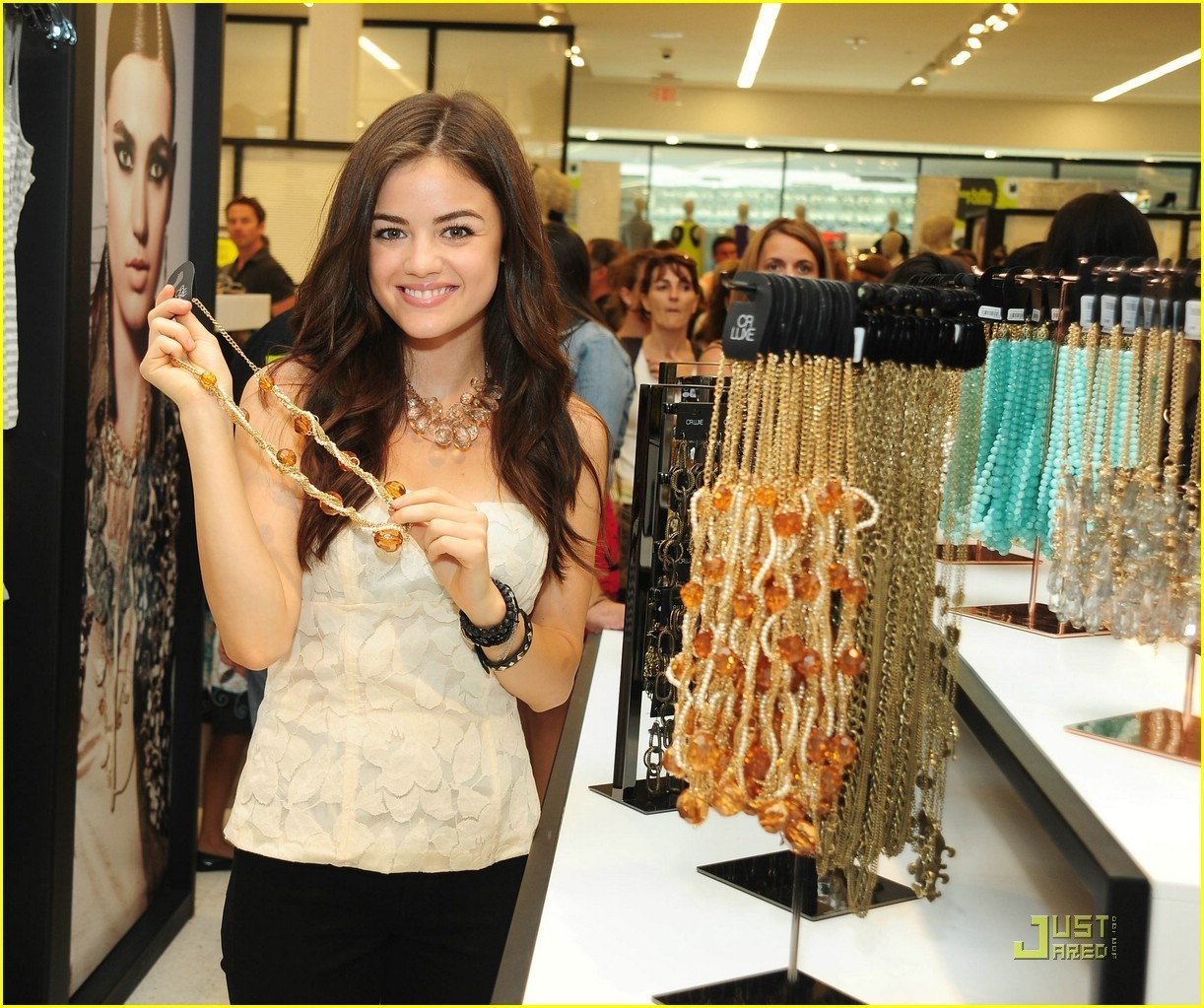 Lucy Hale August 6: Charlotte Russe Store Opening & Pet-Adopt-A-Thon - Lucy Hale Photo ...
