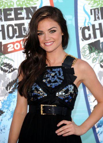 Lucy Hale TCA 2010