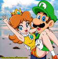 Luigi and Daisy