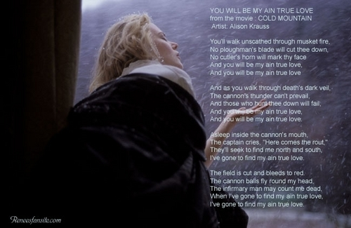 Lyrics of Cold Mountain Songs - te Will Be My Ain True Amore