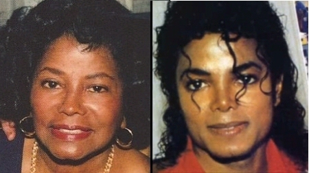 MJ & mother