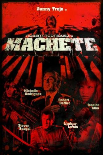 Machete wallpaper titled Machete Poster