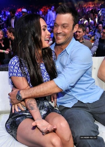 Megan & Brian @ 2010 Teen Choice Awards