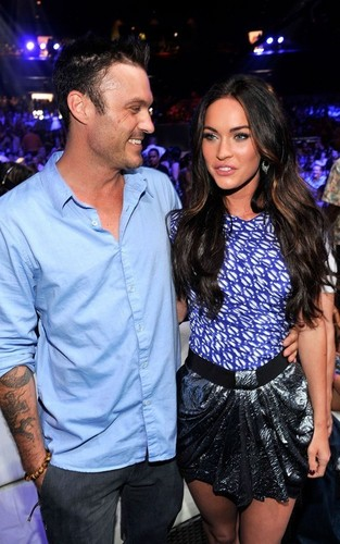 Megan लोमड़ी, फॉक्स & Brian Austin Green @ the 2010 Teen Choice Awards
