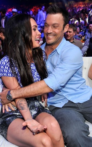 Megan Fox & Brian Austin Green @ the 2010 Teen Choice Awards