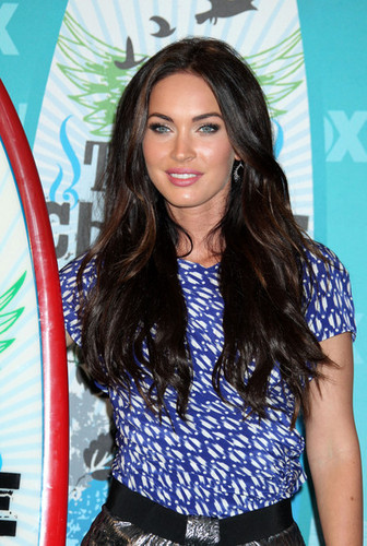 Megan fox, mbweha @ the 2010 Teen Choice Awards