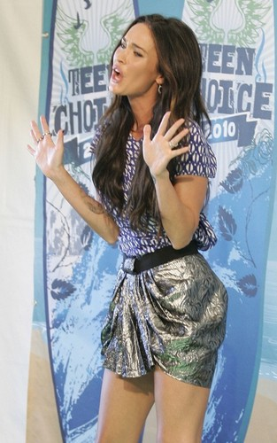Megan Fox @ the 2010 Teen Choice Awards