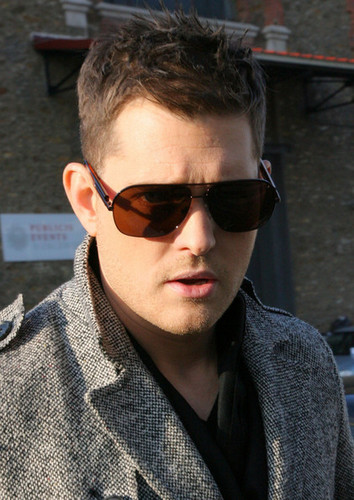 Michael Buble in Paris promoting Crazy प्यार (Dec. 14)