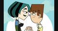 More Gwen and Cody - total-drama-island fan art