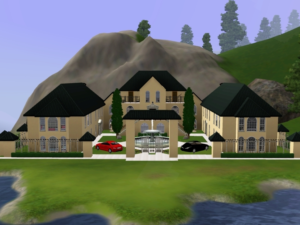 Sims 3 House Ideas Mansion Ideas Photo Gallery Home