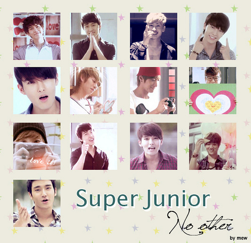 super junior fondo de pantalla called No other-Super Junior