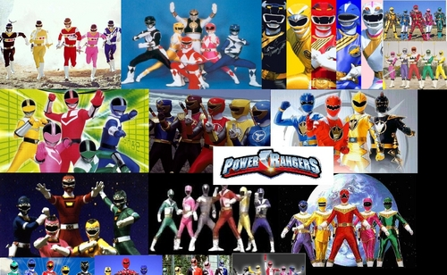 The Power Rangers kertas dinding called Power Rangers kertas dinding