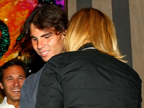 Rafa Nadal:kiss with blond girl !!