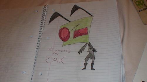 Redmetz's OC Zak