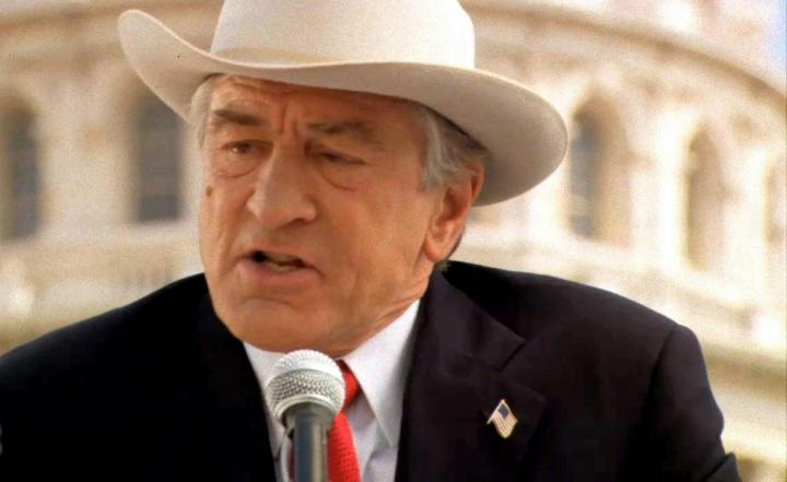 Robert De Niro as Senator McLaughlin