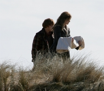 Romione - Harry Potter & The Deathly Hallows: Part I - Behind The Scenes & On The Set