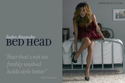 Sasha Alexander - BedHead - rizzoli-and-isles Photo