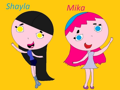Shayla & Mika (for fanfic)