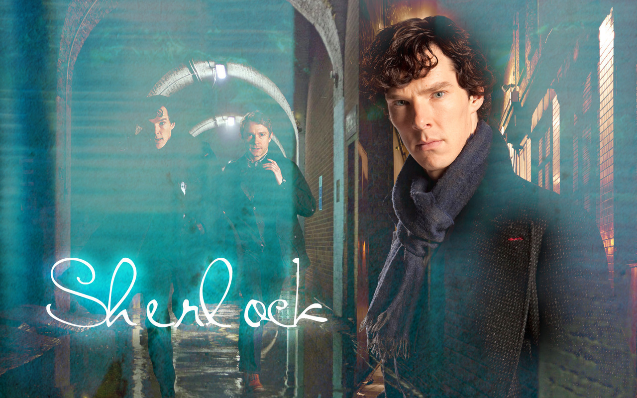 sherlock sherlock on bbc one wallpaper 14575428 fanpop