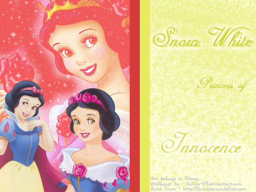 Snow White kertas dinding entitled Snow White