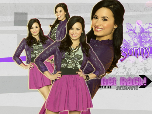 Sonny With A Chance achtergrond entitled Sonny / Demi Lovato