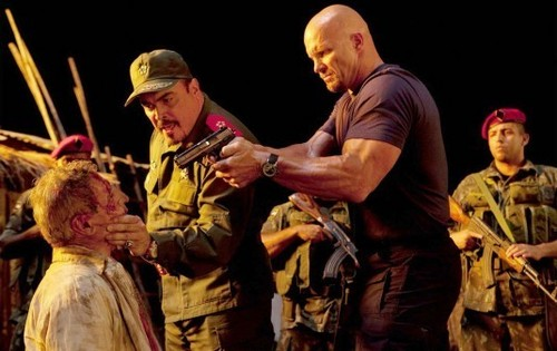 Steve Austin in The Expendables