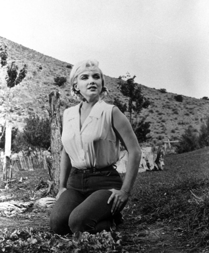Marilyn Monroe wallpaper titled The Misfits