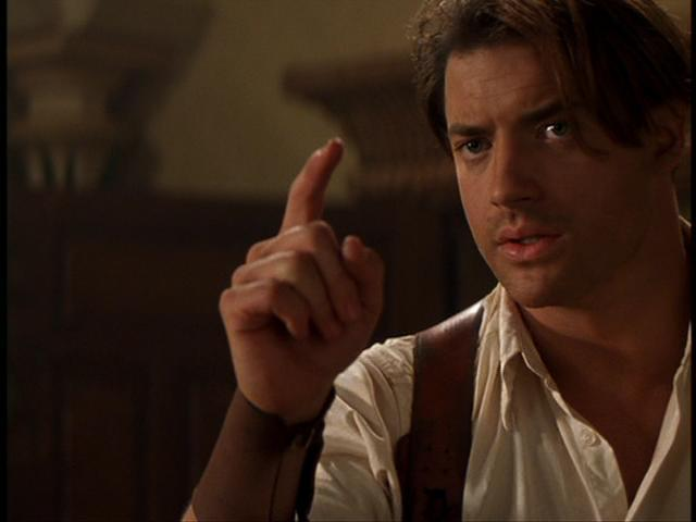 Young Brendan Fraser The Mummy The Mummy - Brendan Fr...