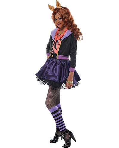 Monster High hình nền titled The Real Clawdeen Wolf!/Costume