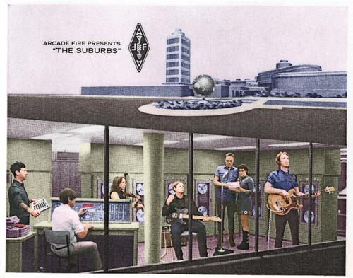 The Suburbs Promo Postcard