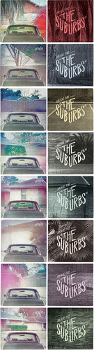The Suburbs covers