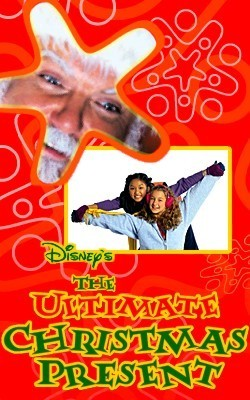 Disney Channel Original Movies wallpaper called The Ultimate Christmas Present movie poster