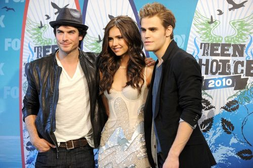 The trio @ Teen choice awards 2010