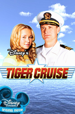 Disney Channel Original Movies wallpaper entitled Tiger Cruise movie poster