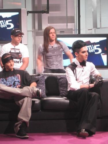 Tokio Hotel-Eon5-Entrevista